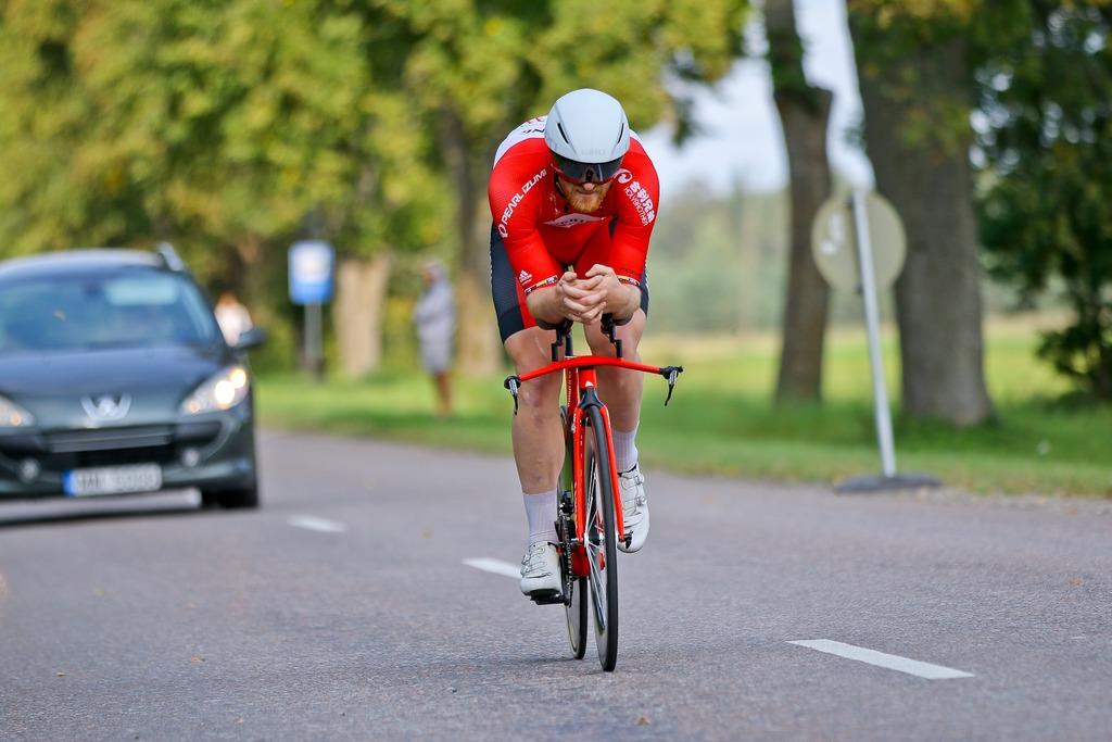 Latvijas čempionāta šosejas riteņbraukšanā individuālajā braucienā STARTA SARAKSTS