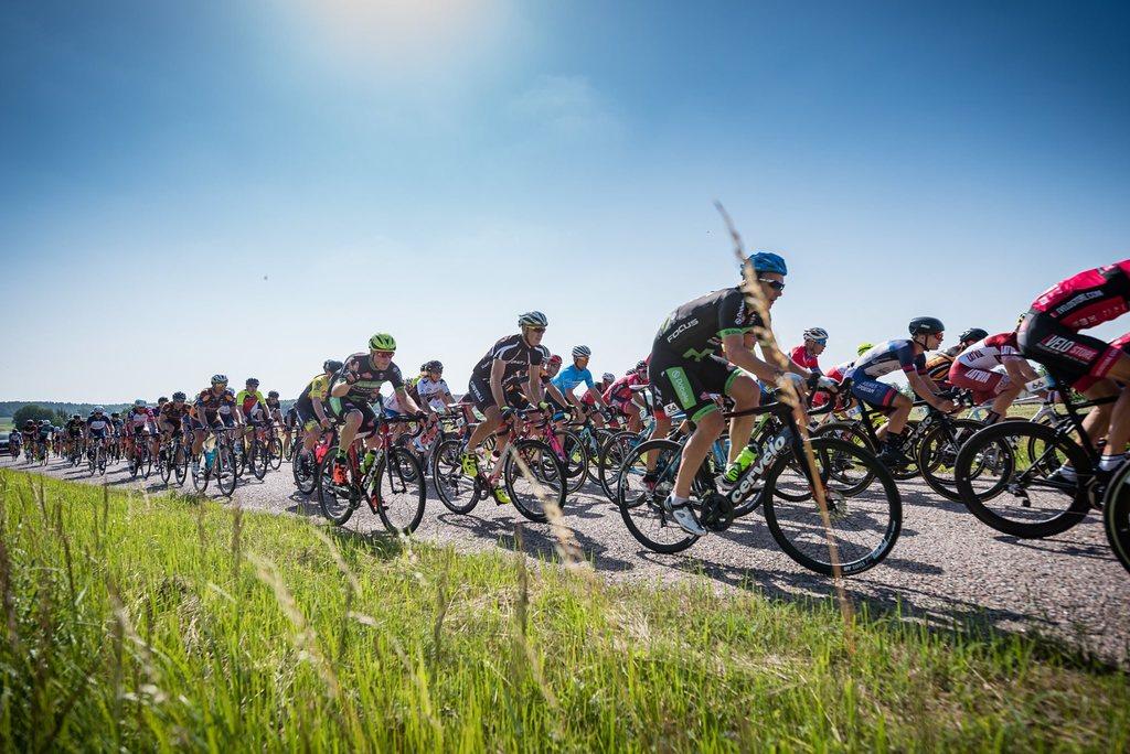 Latvijas un Baltijas čempionāta šosejas riteņbraukšanā grupas braucienā distanču kartes
