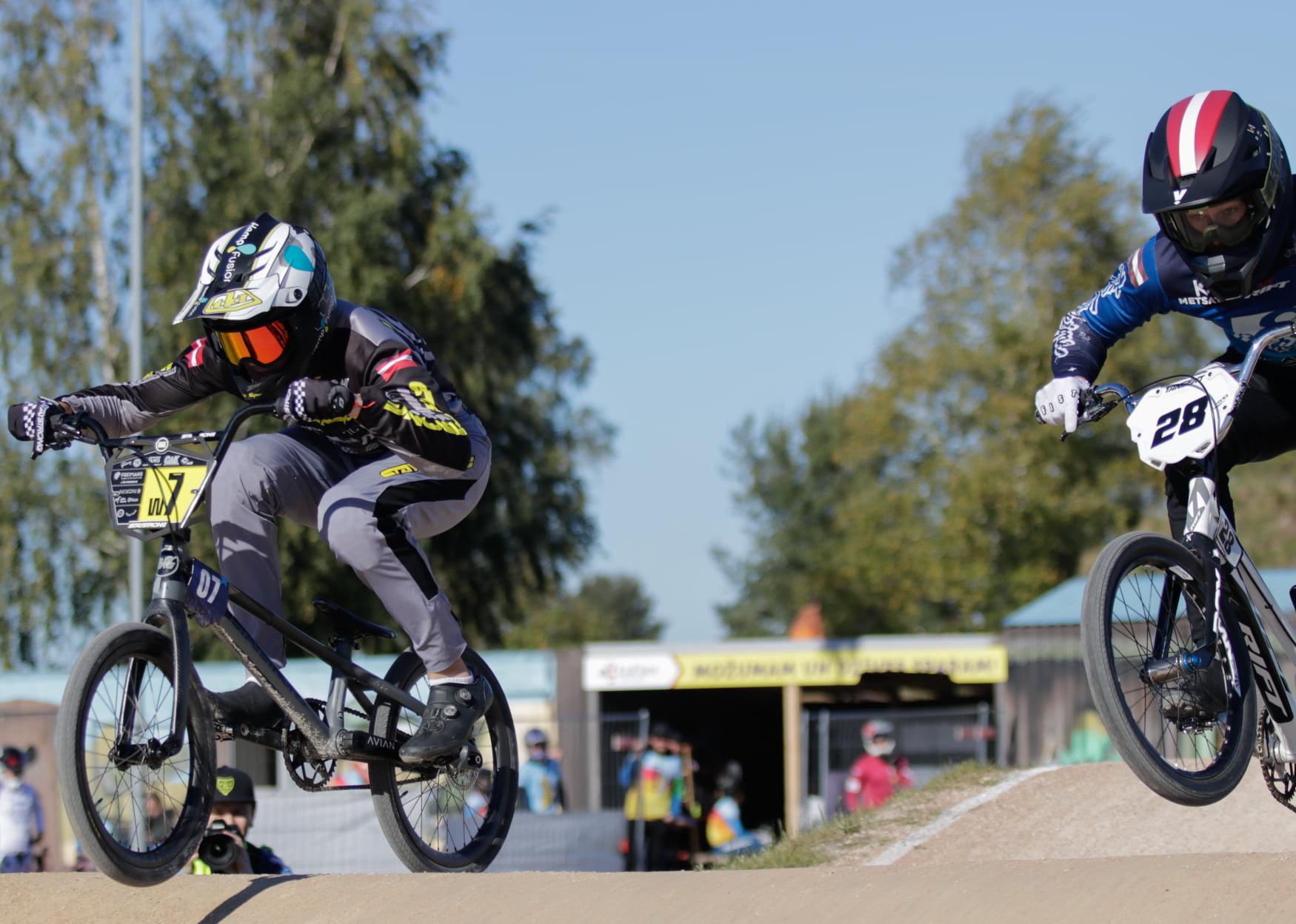 Krīgers turpina savu dominanci arī Latvijas BMX kausa Mārupes posmā