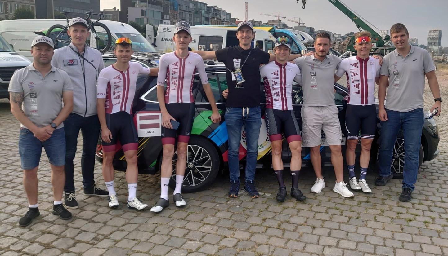 Latvijas vīru elites kvartets aizvada pasaules čempionāta grupas braucienu