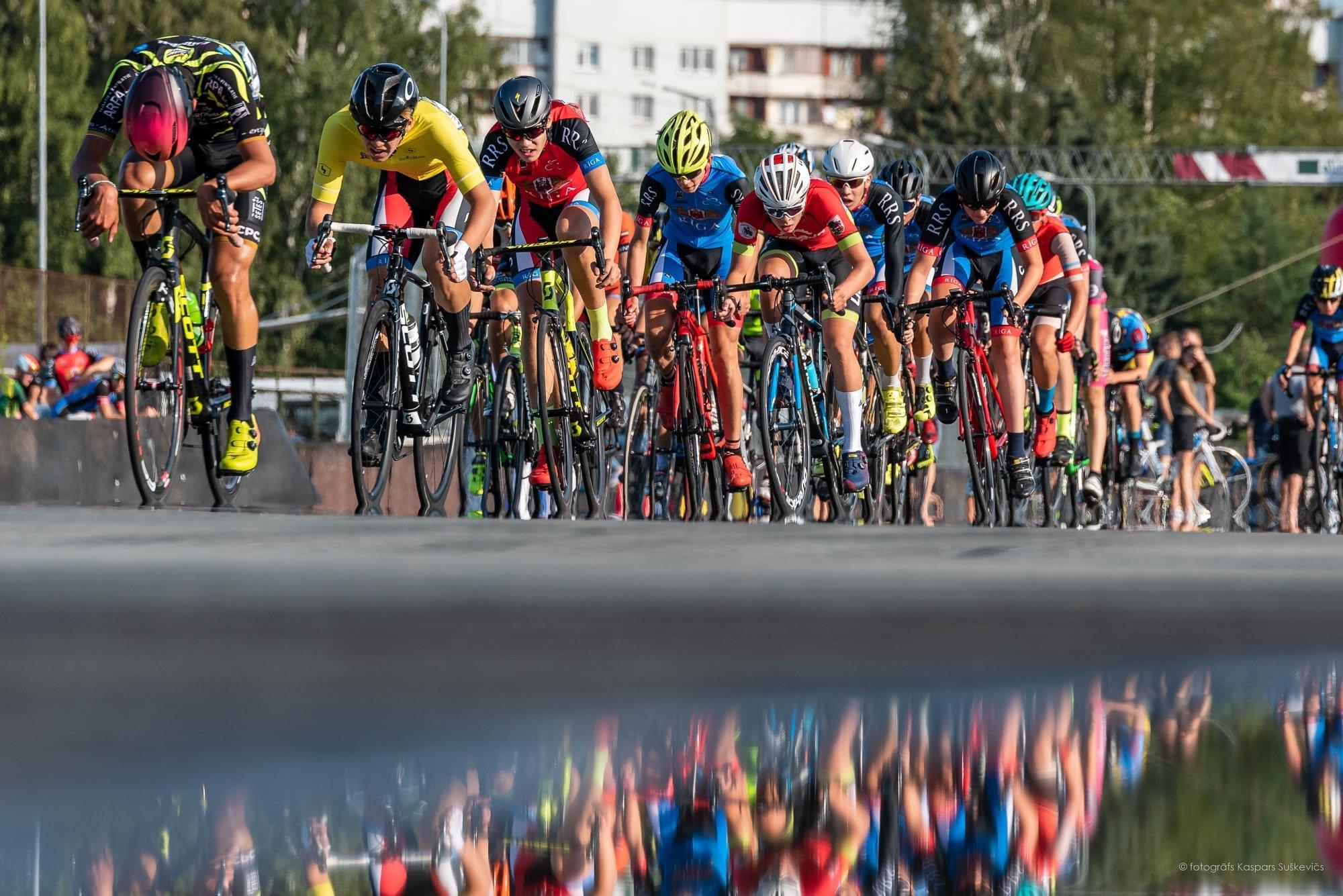 """Trešdien norisināsies bezmaksas bērnu riteņbraukšanas sacensības """"Rīgas lielā balva"""""""