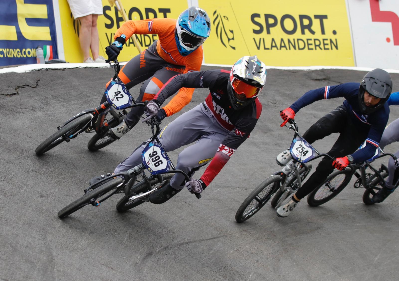 Lieliski sākušais Krīgers krīt finālā, paliekot astotais Eiropas čempionātā BMX