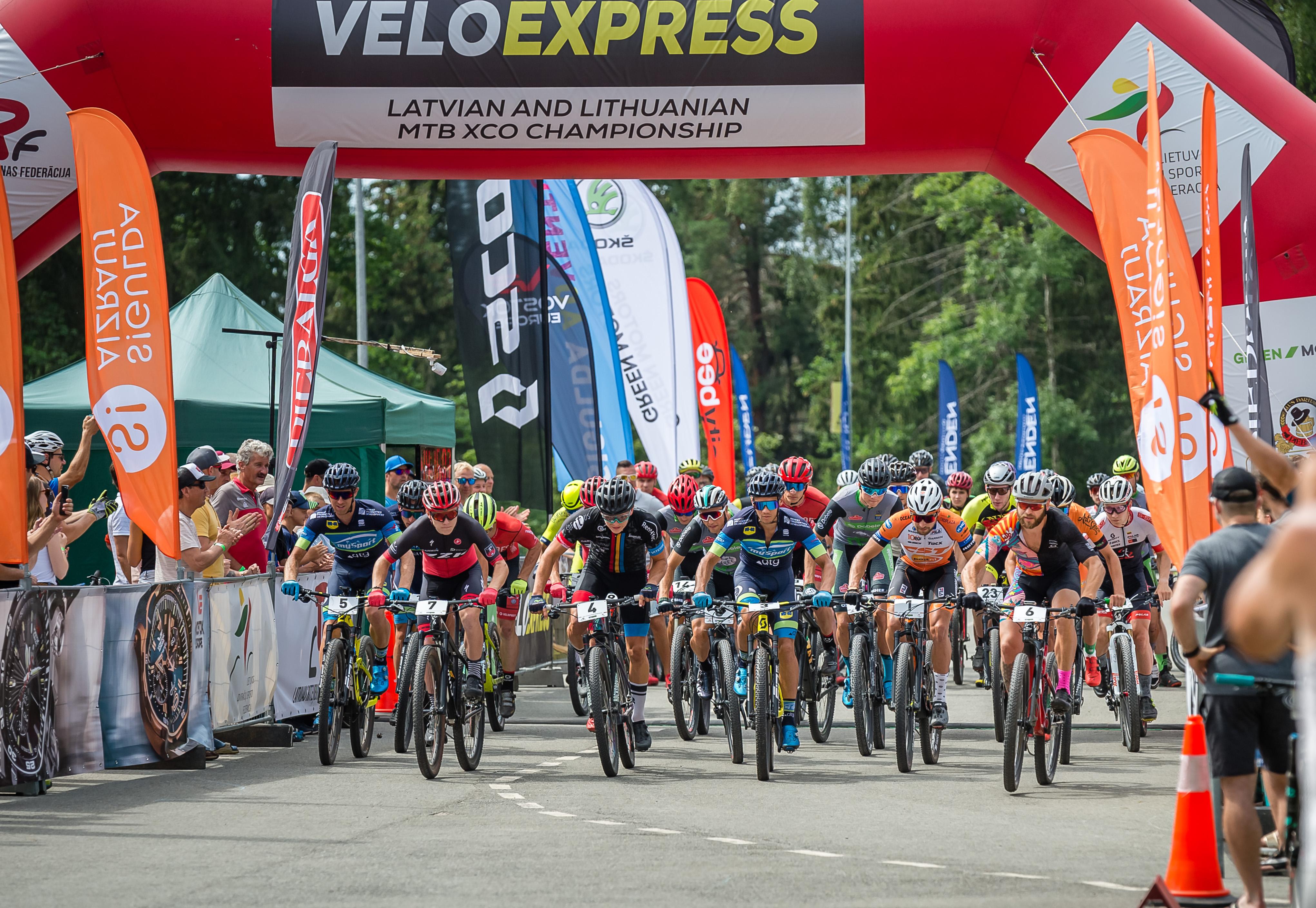 VELO EXPRESS Latvijas čempionāta MTB Olimpiskajā krosā REZULTĀTI