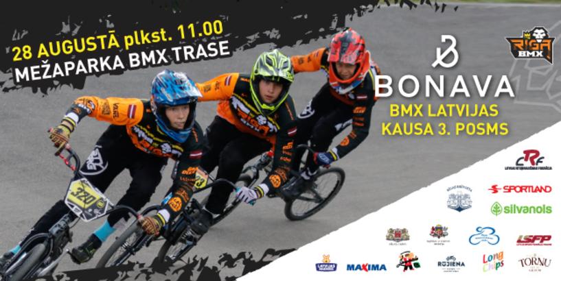 BMX sacensību sezona Latvijā nedēļas nogalē turpināsies Rīgā