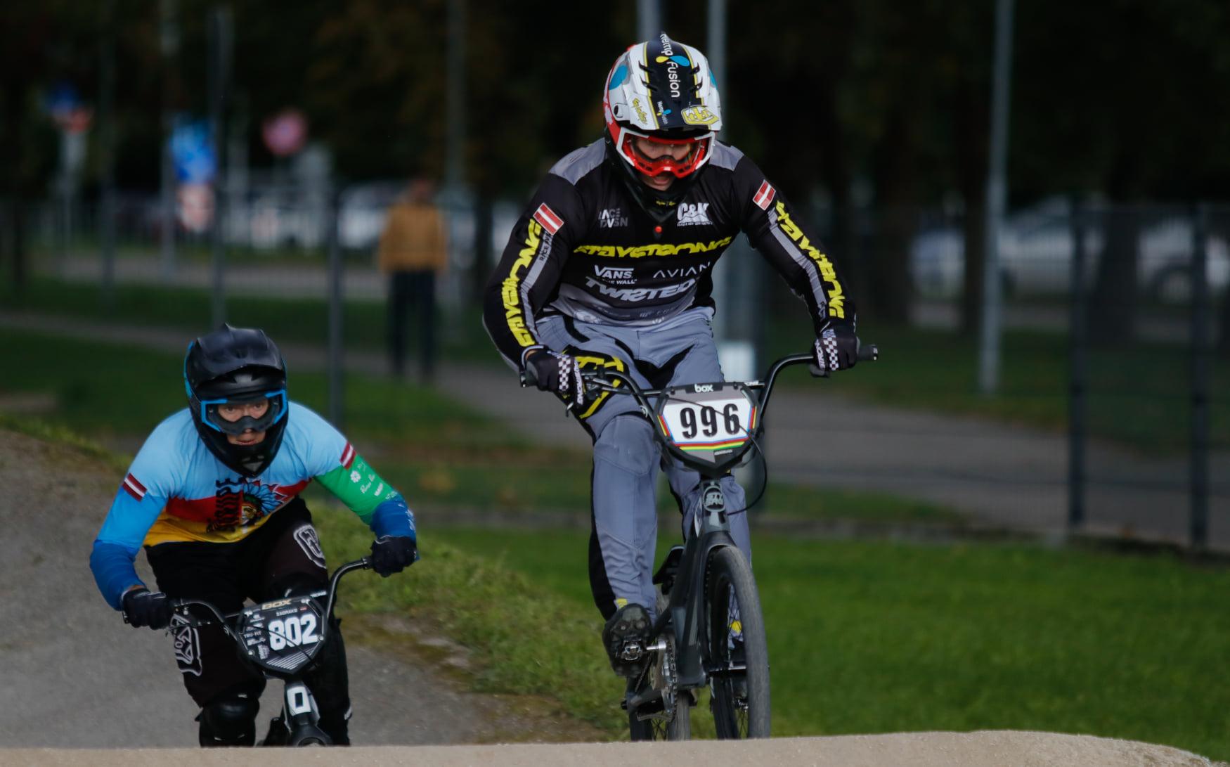 Krīgers uzvar Latvijas BMX kausa Jelgavas posmā