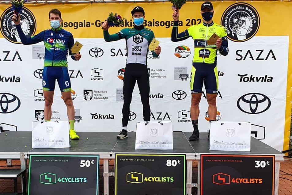 Ansons uzvar Lietuvas kausa šosejas riteņbraukšanā pirmajā posmā