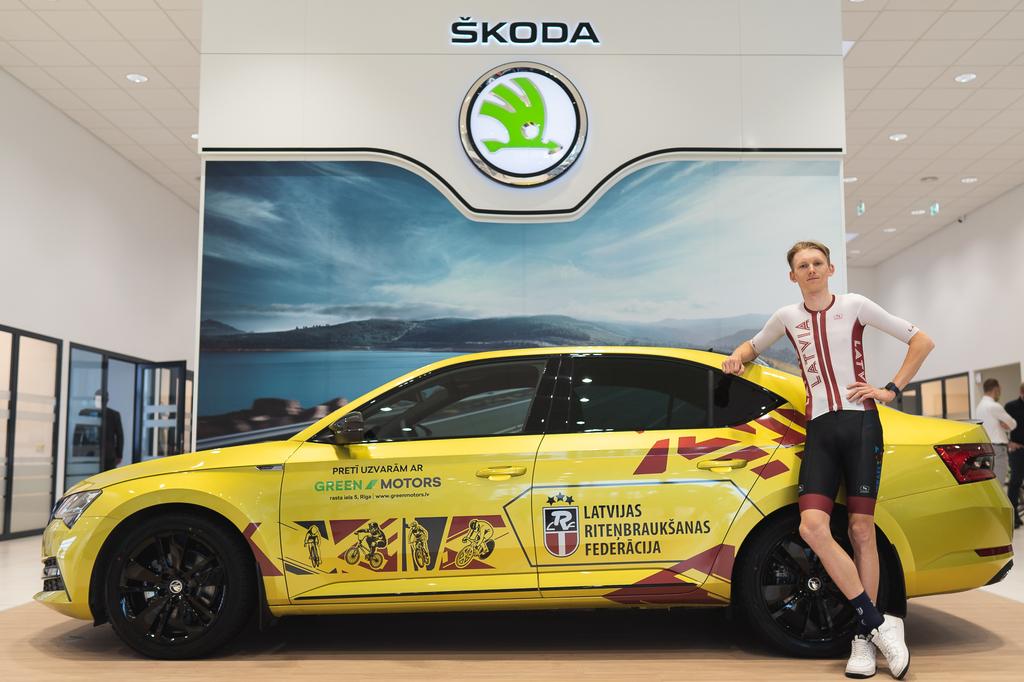 Par Latvijas Riteņbraukšanas federācijas oficiālo auto partneri kļūst GREEN MOTORS