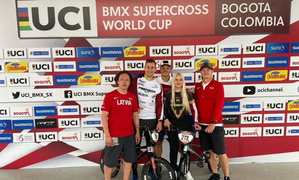 Latvija Tokijas Olimpiskajās spēlēs būs pārstāvēta BMX vīru un dāmu sacensībās