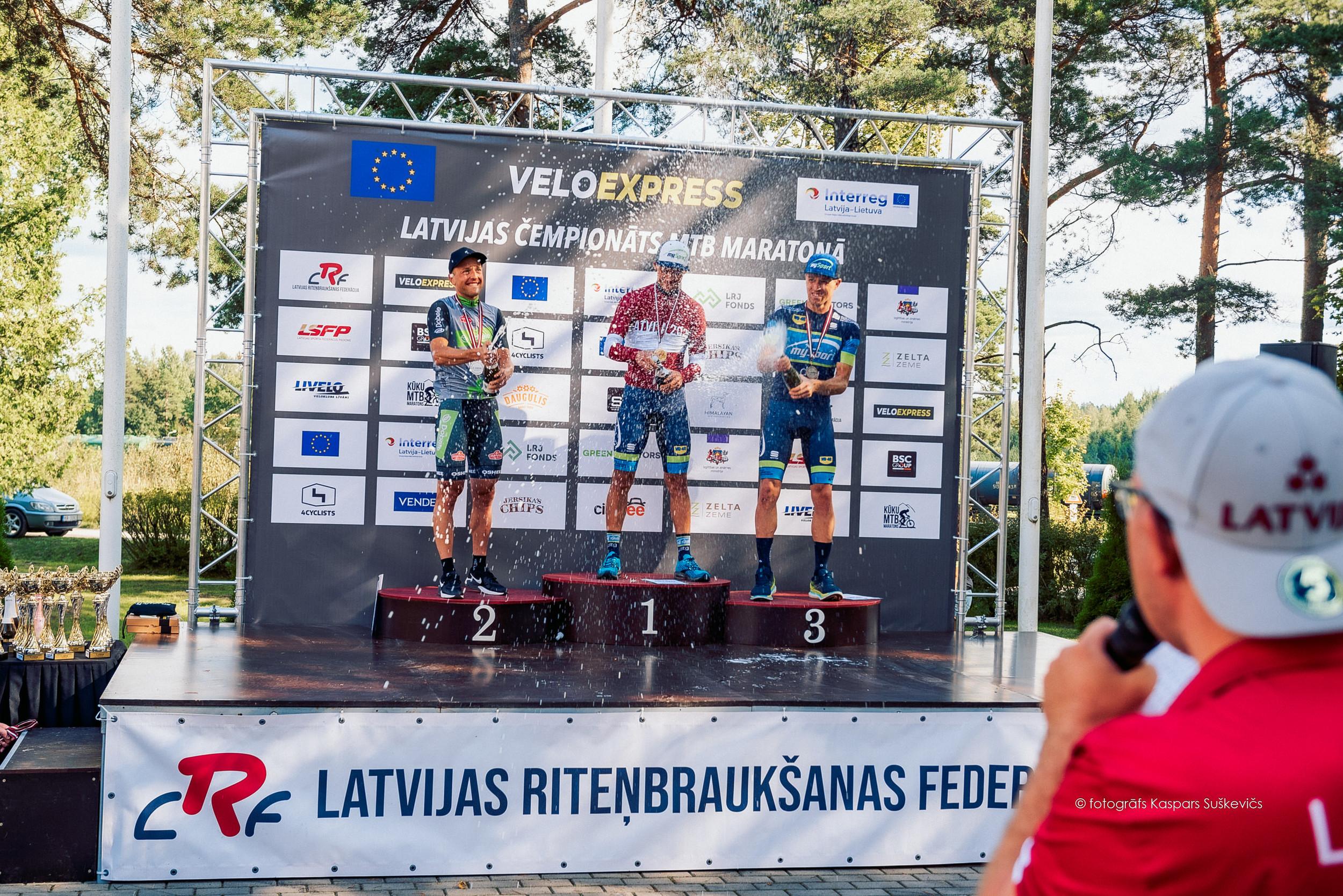 """Latvijas MTB kausa sezonas kopvērtējumā uzvar Muižnieks, Ķelpe un """"DTG – MySport"""""""