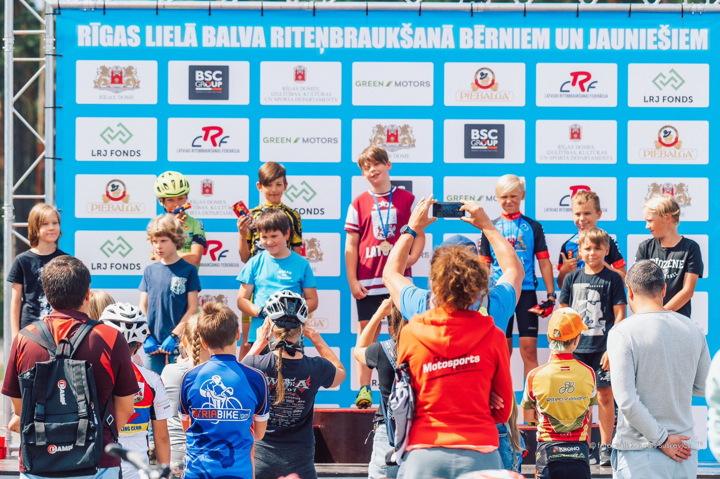 Rīgas lielās balvas riteņbraukšanā bērniem un jauniešiem REZULTĀTI (Precizēts)